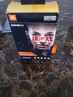 JBL INSPIRE500 Bluetooth wireless headphones for Sale in Houston, TX