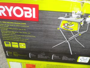 Ryobi 10 inch table saw brand new for Sale in Pittsburgh, PA