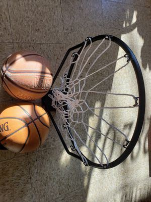 Basketball and hoop for Sale in North Providence, RI