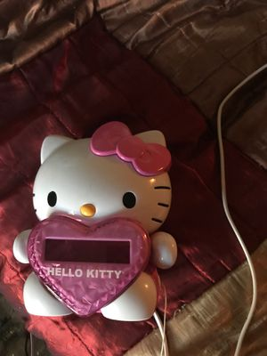 Hello kitty clock for Sale in Vallejo, CA