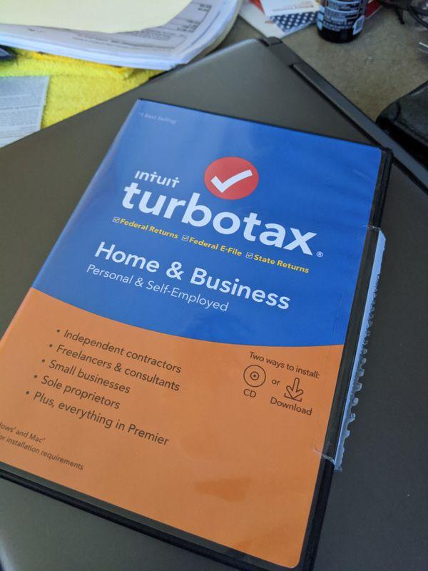 Turbo tax home & business 5 Tax Files