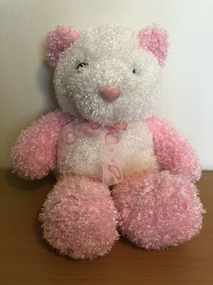 Pink and White Teddy Bear Plush for Sale in Chula Vista, CA