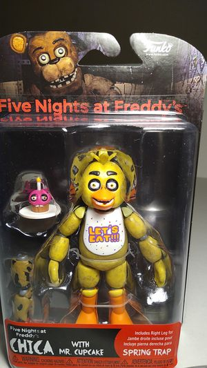ARTICULATED COLLECTIBLE CHICA FROM FNAF. for Sale in City of Industry, CA