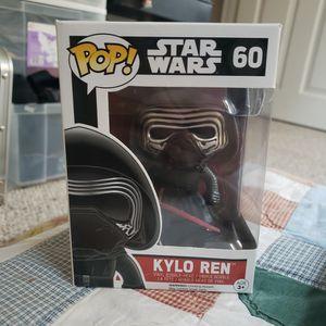 Funko Pop Star Wars Kylo Ren 60 for Sale in Rockville, MD