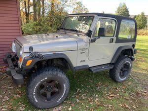 2001 Jeep Wrangler for Sale in Dillsburg, PA
