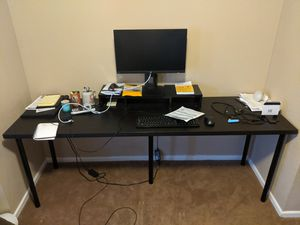 Black work desk for Sale in Tempe, AZ