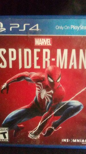 Spiderman ps4 for Sale in Victorville, CA
