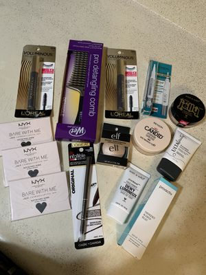 Beauty bundle all brand new authentic sealed $25 for all together firm for Sale in Carmichael, CA