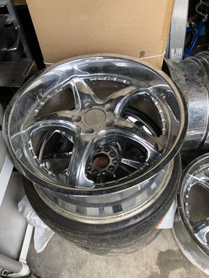 "20"" chrome rims Set of 4 for Sale in Marina, CA"