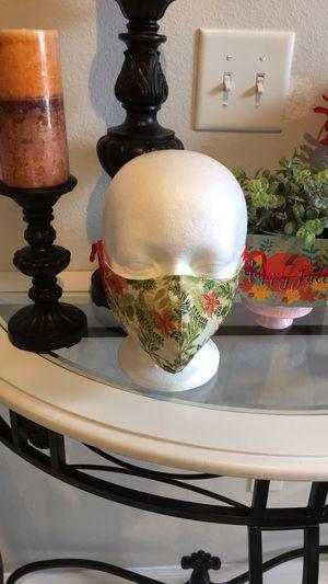 Flor de pascua face mask for Sale in Deltona, FL