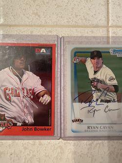 John Bowker and Ryan Cavan Autographs for Sale in Fresno,  CA
