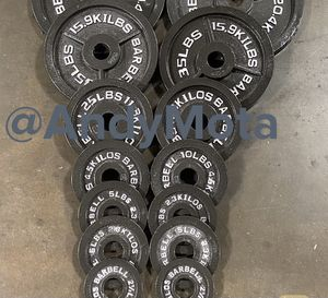Olympic weight plates (2x35Lbs, 2x25Lbs, 2x10Lbs, 4x5Lbs, 2x2.5Lbs) for $325 Firm on Price for Sale in Lakewood, CA