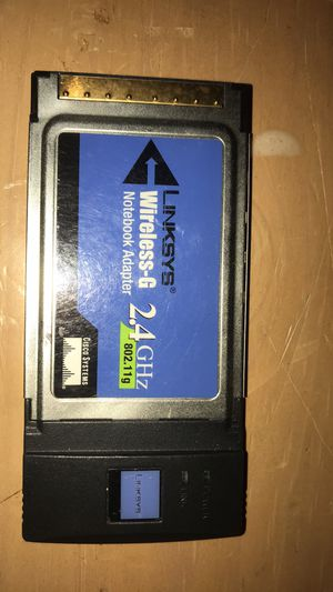 Linksys wireless-g notebook adapter 2.4 ghz 802.11g for Sale in Portland, OR