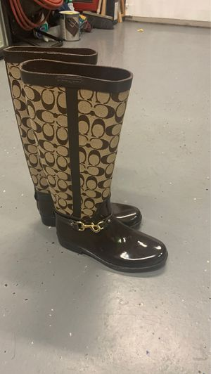 Coach rain boots for Sale in Federal Way, WA