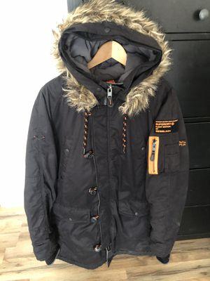 SUPERDRY Japan LTD Flight Edition Parka Jacket Large for Sale in Hawthorne, CA