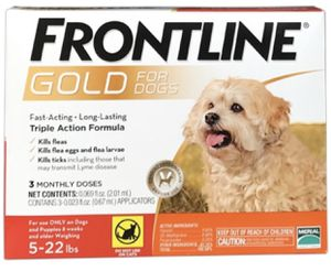 Frontline Gold for dogs 5-22lbs 3 doses for Sale in Payson, AZ