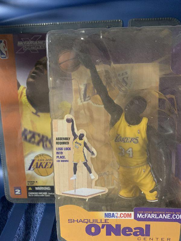 McFarlane Sports Figures NBA series 2 Shaquille O' Neal