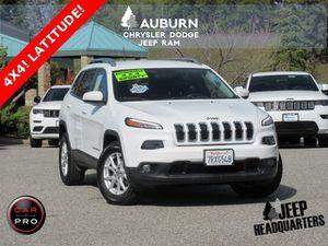 2016 Jeep Cherokee for Sale in Auburn, CA