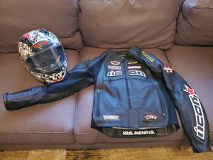 Female Jacket and Helmet for Sale in Lancaster, TX