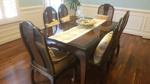 Dining room set- solid wood for Sale in Fulton, MD