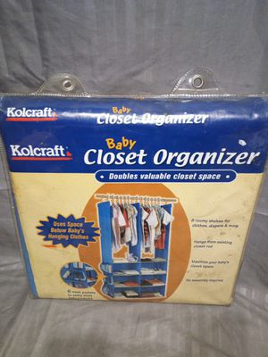 Baby closet organizer for Sale in Lawrenceville, GA