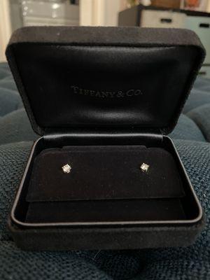Tiffany & Co. Diamond Earrings for Sale in Upland, CA