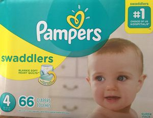 Pampers swaddlers size 4 for Sale in Fort Worth, TX
