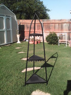 Metal and leather shelf for Sale in Fort Worth, TX