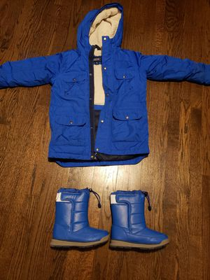 Lands End Kids Parka and matching Boots for Sale in Skokie, IL