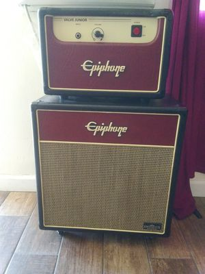 Epiphone Valve Jr head/cabin amp for Sale in San Diego, CA