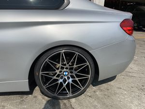 """Bmw 3/4/5 ser 19"""" new m competition style rims tires set for Sale in Hayward, CA"""