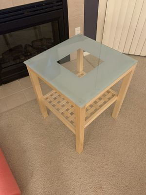 IKEA end table for Sale in Kent, WA