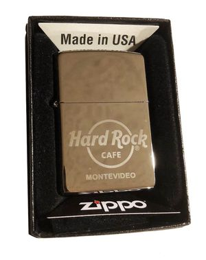 Hard Rock Cafe MONTEVIDEO Collectible ZIPPO Lighter for Sale in Hainesville, IL