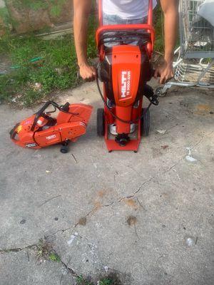 Hilti Breaker And Hilti Concrete Cutter for Sale in Houston, TX