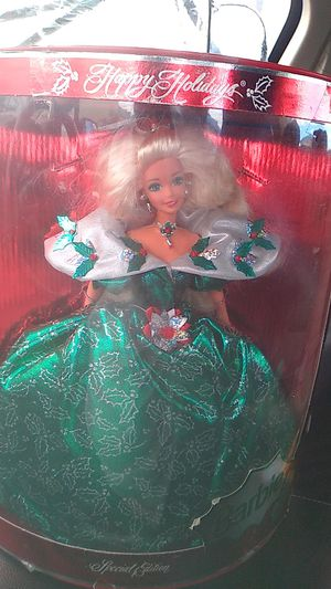 Rare happy holiday barbie in box collectible for Sale in Denver, CO