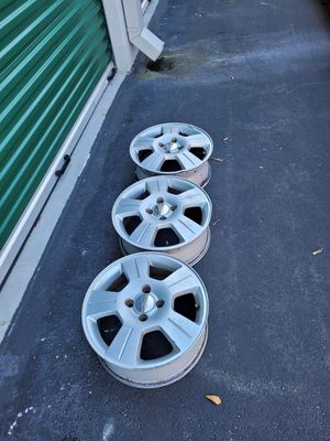 3. 2007 ford focus stock rims. for Sale in Concord, NC