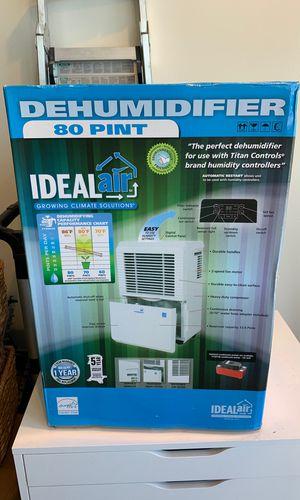 Ideal Air 80 pint Dehumidifier for Sale in Redondo Beach, CA