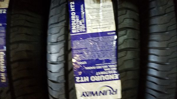 four bright new set of tires for sale 235/70/17