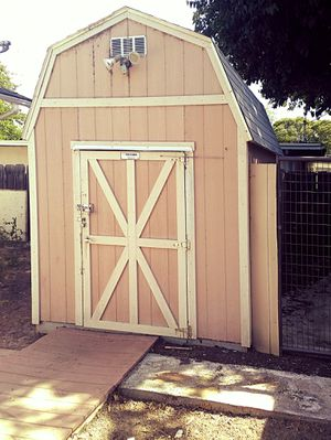 Wood shed 8x12x12 for Sale in Modesto, CA