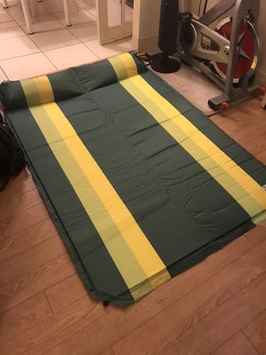 Folding self inflating camping sleeping pad for Sale in Pittsburgh, PA