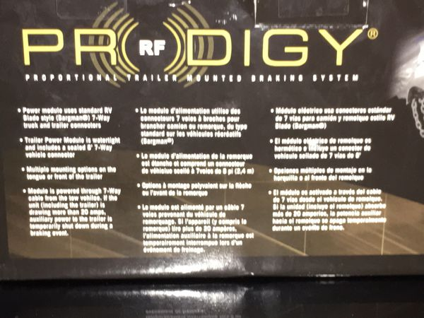 Prodigy® RF Electronic Brake Control, for 1 to 3 Axle Trailers, Trailer Mounted, Proportional