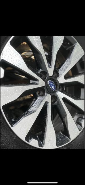 2017 Subaru Outback 18 inch rims and tire for Sale in Lynn, MA