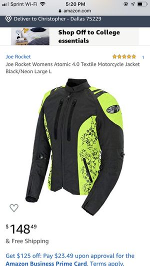 Female Motorcycle Jacket for Sale in Dallas, TX