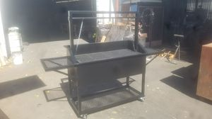 2 x 4 Santa Maria Grill with side shelves and bottom shelf for Sale in Fontana, CA