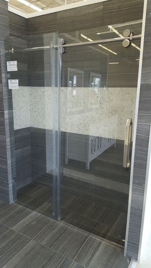 Chrome Finish 60in x 78in Shower Door for Sale in Orlando, FL