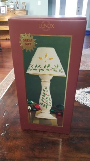 New Lenox candle stick lamp for Sale in Chesapeake, VA