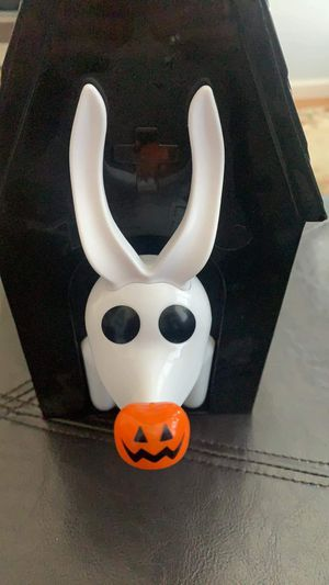 Disneyland zero nightmare before Christmas popcorn bucket. for Sale in San Bruno, CA