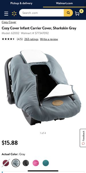 Cozy cover car seat cover for Sale in Imperial, CA