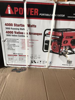 4000 watt generator for Sale in Lexington, KY