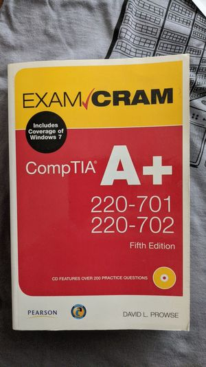 Comp Tia A+ Exam Cram for Sale in Pacifica, CA